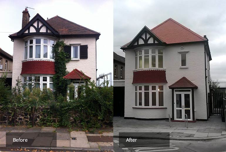 Conversion of 3 bed house into an office for Southend Borough Council