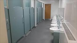 School toilet refurbishment