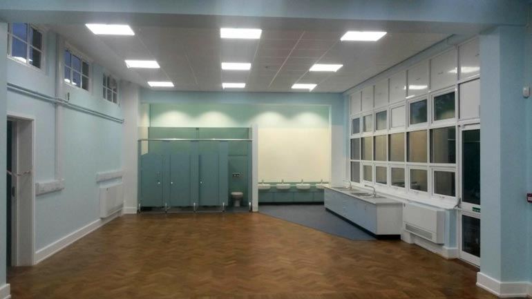 Annexe Refurbishment at St Mary's School, Prittlewell
